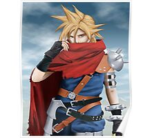 Cloud Strife - Heroes of final fantasy 7 Poster