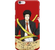 """That ticket called """"TALENT"""" iPhone Case/Skin"""