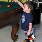 Future Pool Shark!   by Jenni Atkins-Stair