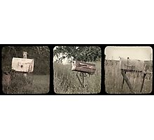 "Rural Delivery Triptych - ""faux"" TTV Photographic Print"