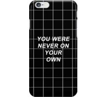 One Direction Don't Forget Where You Belong Lyrics iPhone Case/Skin