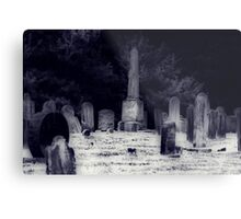 Death Door Knocks Metal Print