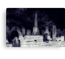Death Door Knocks Canvas Print