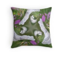 Garden Gala Throw Pillow
