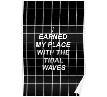 All Time Low Mark Hoppus Tidal Waves Lyrics Poster