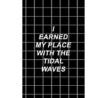 All Time Low Mark Hoppus Tidal Waves Lyrics Photographic Print