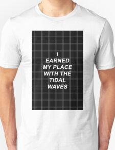 All Time Low Mark Hoppus Tidal Waves Lyrics Unisex T-Shirt
