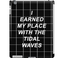 All Time Low Mark Hoppus Tidal Waves Lyrics iPad Case/Skin