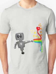 Rainbow Robot  T-Shirt