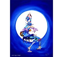 Jester song at Twilight Photographic Print