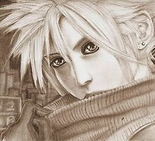 Cloud Strife - Heroes of final fantasy 7 (2) by Dnx-Drift