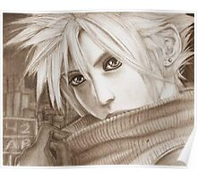 Cloud Strife - Heroes of final fantasy 7 (2) Poster