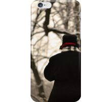 Lost in the Winter Woods iPhone Case/Skin
