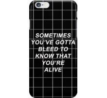 Twenty One Pilots Tear In My Heart Lyrics iPhone Case/Skin