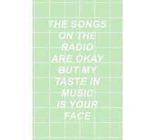 Twenty One Pilots Tear In My Heart Lyrics 2 Photographic Print