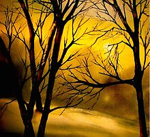Yellow Moon by ©Janis Zroback