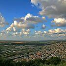 The Landscape from Zichron... by Nira Dabush