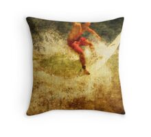 Hitting It Throw Pillow
