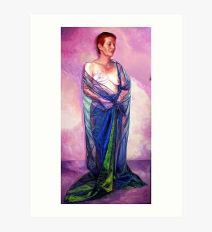Hope,Strength and Beauty Art Print