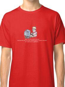Upload Success Classic T-Shirt
