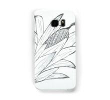 Black & white corn Samsung Galaxy Case/Skin