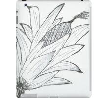 Black & white corn iPad Case/Skin