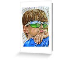 My Future's So Bright (I gotta wear shades) Greeting Card