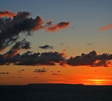 Lundy Sunset by RedHillDigital