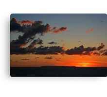 Lundy Sunset Canvas Print