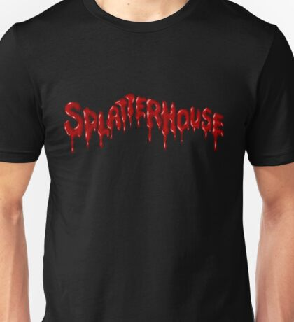 Splatterhouse - SEGA Genesis Title Screen Unisex T-Shirt
