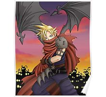 Cloud Strife - Kingdom Hearts Poster