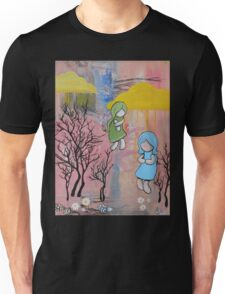 Descent to the New Planet Unisex T-Shirt
