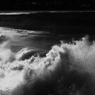 Wave Splash in Black and White, Bondi by TheSpaniard