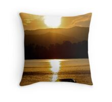 ¨My Peaceful Boat¨ Throw Pillow