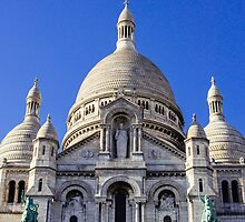 Sacre Coeur Front View by PatiDesigns