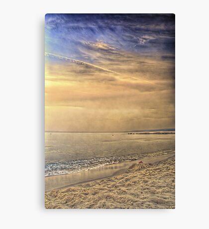 HDR Sunset in Skiathos island Canvas Print