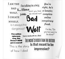 Rose Tyler- Bad Wolf Poster