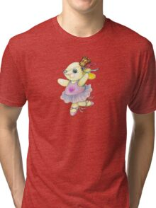 Bunny Ballet Tri-blend T-Shirt