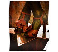 Divas Shoes Poster
