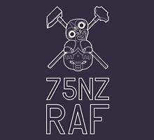 Tiki 75NZ RAF White Solid Unisex T-Shirt