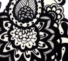 Henna design Sticker