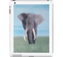 Plains Elephant  iPad Case/Skin