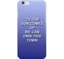 5 Seconds of Summer Lyrics Long Way Home iPhone Case/Skin