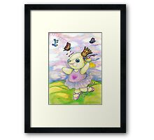 The Hills are Alive with the Sound of Pooky Framed Print