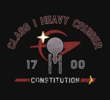 Heavy Class Cruiser Back - Dark T-Shirt