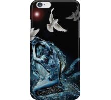 Femme aux Colombes iPhone Case/Skin