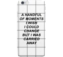 All Time Low Therapy Lyrics iPhone Case/Skin