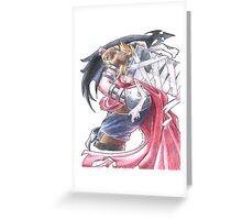 Cloud Strife - Kingdom Hearts (2) Greeting Card