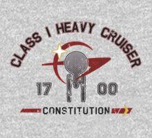 Heavy Class Cruiser Back - light Kids Tee