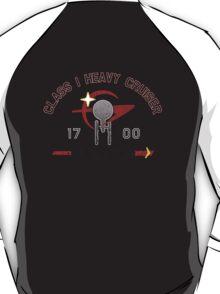 Heavy Class Cruiser Back - light T-Shirt